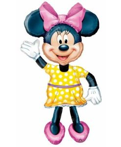 Balon folie Minnie Mouse Airwalker