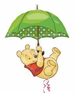 Balon folie Winnie the Pooh Shape
