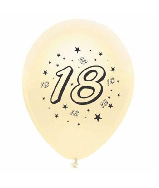 Baloane inscriptionate cu cifre