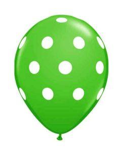 Baloane inscriptionate Polka Dot