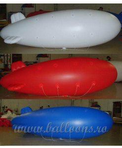 balon publicitar zeppelin