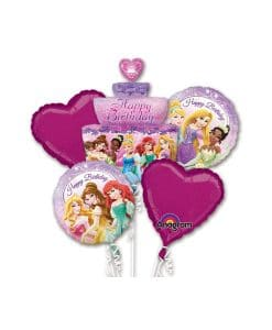 Buchet baloane Disney Princess