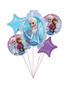 Buchet baloane Frozen