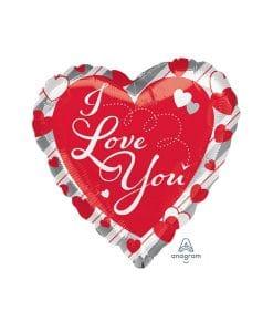 Balon folie Love Red Heart