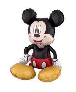 Balon folie Sitter Mickey Mouse