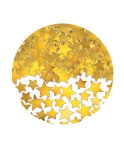 Confetti stelute aurii